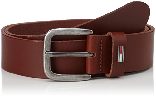 Tan Herren Jeans (Hilfiger Denim Herren Gürtel Tjm Flag Loop Belt 4.0CM, Braun (Dark Tan 253), 95)