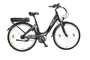 FISCHER E-Bike CITY ECU 1703, Mittelmotor 36 V/317 Wh und LCD-Display