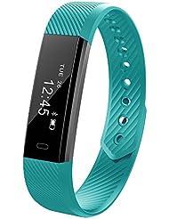 Fitness Activity Tracker, 11TT YG3 Sports Fitness Armband Schrittzähler Touchscreen mit Step Tracker/Kalorienzähler/Sleep Monitor Tracker/Call Benachrichtigung Push für iPhone iOS und Android Phone