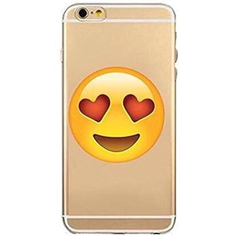 Phone Kandy® Trasparente tpu Emoji silicone cartoon