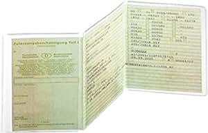 Pochette de 3 compartiments pour permis de conduire 105x 210mm, PP 180my, indélébile