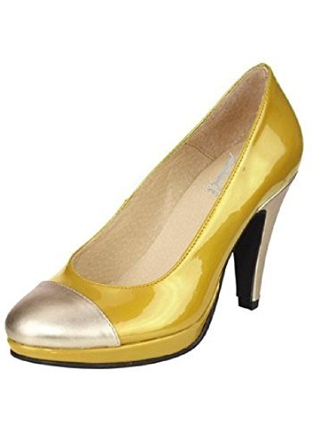 Best Connections Pumps, Scarpe col tacco donna Giallo