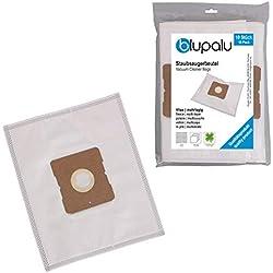 blupalu I 10x Sac à poussière pour aspirateur Nilfisk Alto 50 I 10 pièces I avec filtre à poussière   adaptateur - attachement a été amélioré