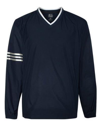 adidas Herren Climaproof® Colorblock V-Ausschnitt windshirt-a147, Herren, Navy/Navy (Adidas Windshirt)