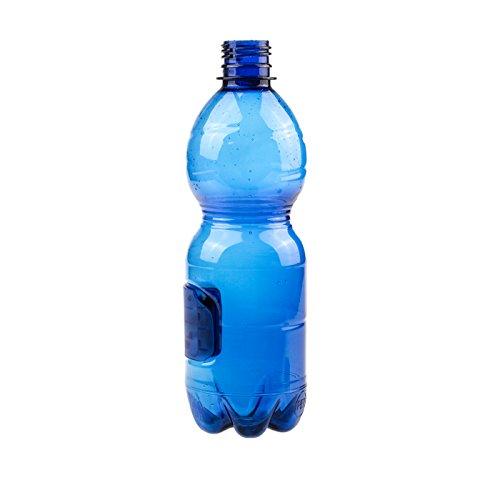 KOBERT GOODS PET Wasserflasche mit integrierter Full HD Überwachungskamera 1080p Kamera im Design Einer Flasche mit Etikett eingebunden für Videoaufnahmen inkl. Bewegungserkennung 1 Gb Spy Pen