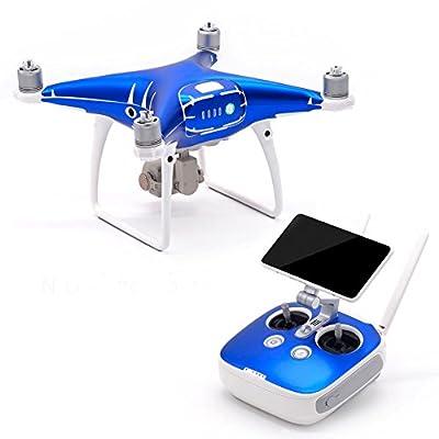 Haodasi Waterproof Body Wrap Sticker Decal Skin for DJI Phantom 4 Pro Drone+Controller from Haodasi Electronics Co., Ltd.