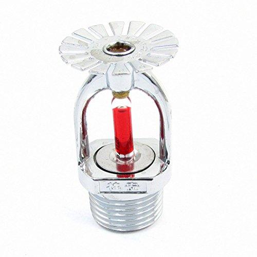 155.4 Fahrenheit Fire Sprinkler-Kopf 20mm 1 / 2PT Thema Silber Ton