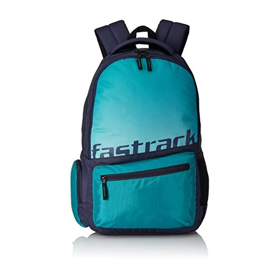 Fastrack 25.81 Ltrs Green School Backpack (A0679NGR01)