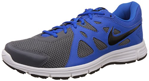 Nike Men's Revolution Dark Grey, Black, Soar and White Running Shoes -12 UK/India (47.5 EU)(13 US)  available at amazon for Rs.2795