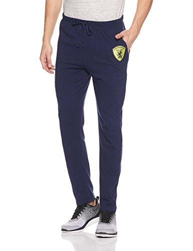 Chromozome Men's Cotton Track Pants (8902733355278_S6762-Starnavy-L)