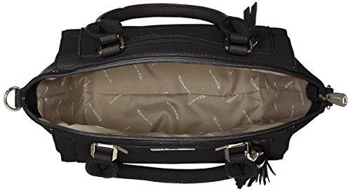 Tamaris - Elsa Handbag, Borse a secchiello Donna Nero (Black Comb.)