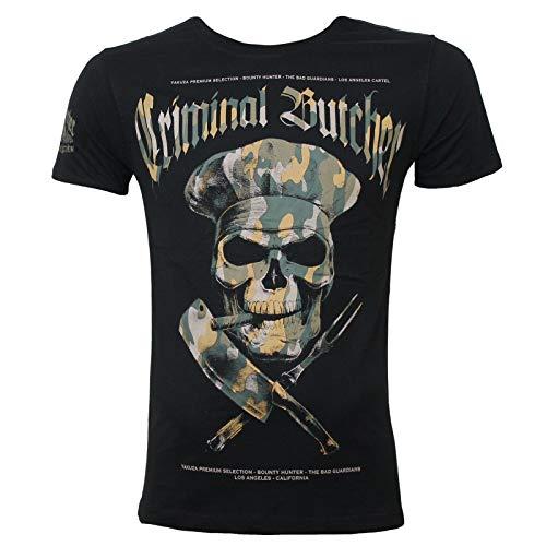 Yakuza Premium Herren T-Shirt 2700 schwarz camo L