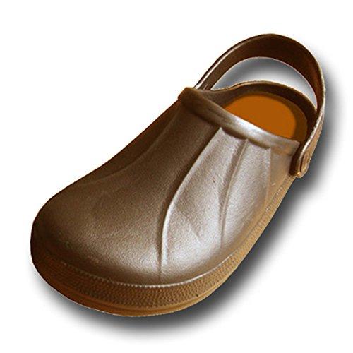 Coolers Wetlands Men's Garden Beach Yard Mule EVA Clog Shoe Sizes 7 - 12 (11 UK, Brown)