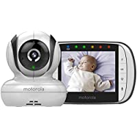 Motorola Digital Video Baby Monitor - Mbp36S, White