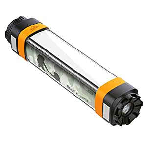 HiHiLL Flashlight Camping Lantern 280lm, Rechargeable, 4400mAh with USB Output, IP68 Waterproof, 7 Light Modes, for Outdoor Activities and Daily Life (LT-SET2)