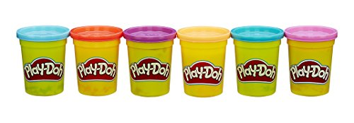 play-doh-b6752-6-pots-couleurs-vives