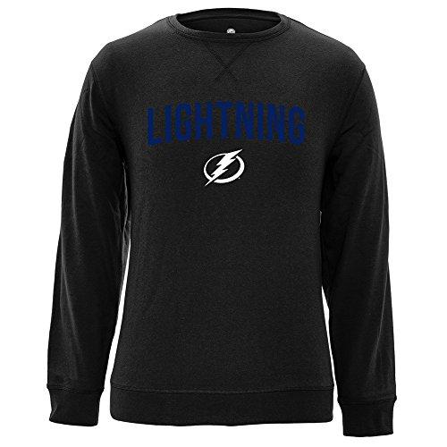 Levelwear LEY9R NHL City Crew OG Crewneck Sweatshirt, Herren, City Crew OG Crewneck Sweatshirt, schwarz, Small City Crewneck Sweatshirts