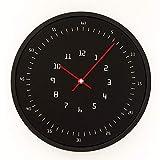 Oudan Wanduhr Nicht Ticken Anzahl Quarz Wanduhr Wohnzimmer Dekorative Innen Uhr Schlafzimmer Uhr Küche Uhr Quarz Moderne Kreative Tisch stumm Minimalistischen B 10 In (Farbe : D12 in)