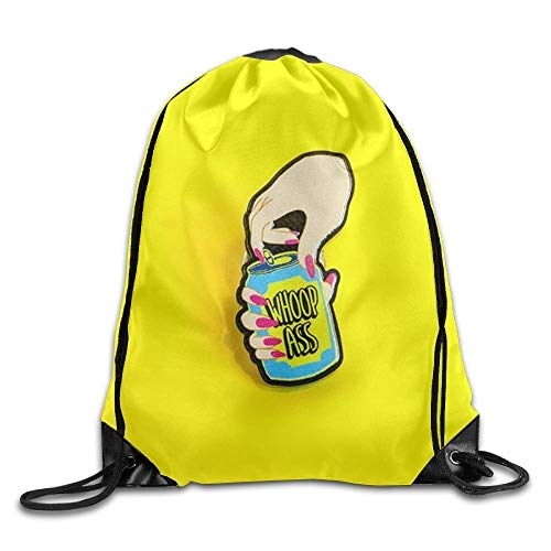 FTKLSS Lightweight Foldable Large Capacity Golden Gate Bridge Duck Printed Youth Drawstring Backpack Women Waterproof Daypack Tote Gym -