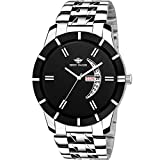 #4: Eddy Hager Black Day and Date Men's Watch EH-250-BK