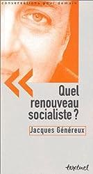 Quel renouveau socialiste ? (Conv. Demain)