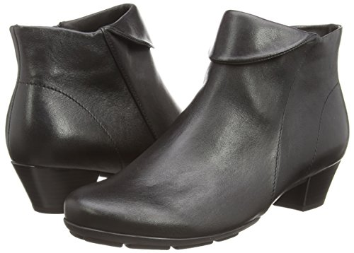 Gabor - Ottawa, Stivaletti Donna Nero (Nero (Black Leather))