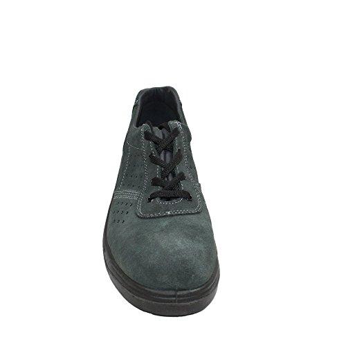 Ergos caracas businessschuhe plat 3 chaussures de sécurité s1P chaussures de travail vert Vert - Vert