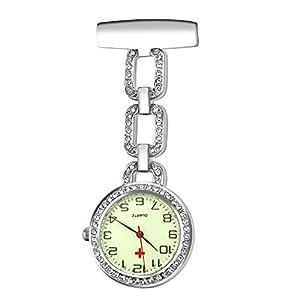 Krankenschwester Uhr Pin-on Brosche Uhr für Krankenschwester Quarz Hängenden