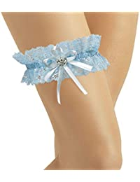b7db976ab BrautChic Bridal Lace Garter - Wedding Garter with Sparkling Crystals in  BUTTERFLY Shape - MUST HAVE