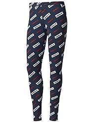 adidas Leggings, Mallas Para Mujer, Multicolor (Tinley/Blanco/Rojbas), 40