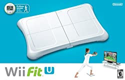 Nintendo Wii Fit U with Wii Balance Board Accessory and Fit Meter