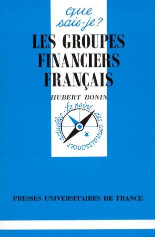 Les groupes financiers français