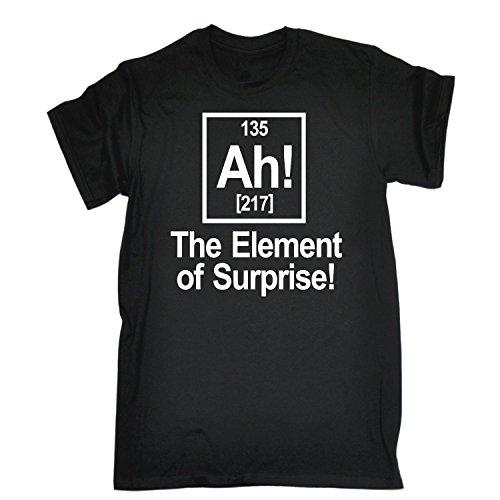 123t Men's - AH ELEMENT OF SURPRISE - Loose Fit T-shirt
