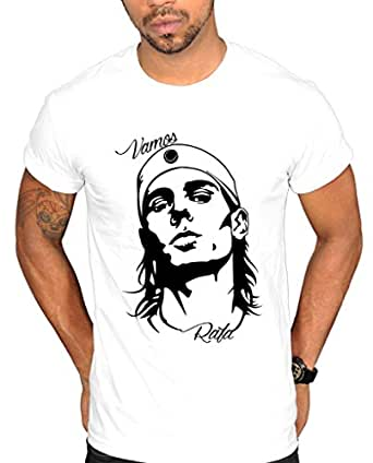 Tru Designz Vamos Rafa Rafael Nadal Silhouette T-shirt