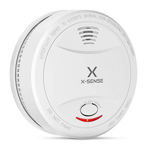 X-Sense Rauchmelder SD12 | DIN EN 14604 und TÜV-zertifizierter Rauchwarnmelder mit 10 Jahren...
