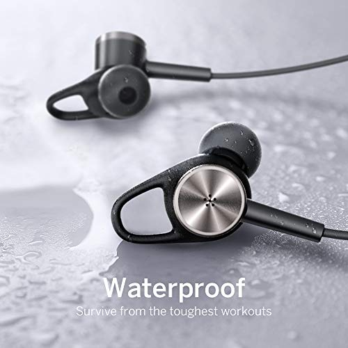 Noise Cancelling Kopfhörer TaoTronics Bluetooth 4.2 ANC In Ear Kopfhörer mit Nackenbügel und integrierten Magneten, IPX5, CVC 6.0 geräuschunterdrückendem Mems Mikrofon - 6