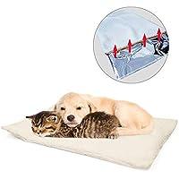 GingerUP - Alfombrilla para cama de mascotas (autocalentamiento), diseño de gatos