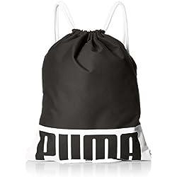 Puma Deck Gym Bag, Unisex Adulto, Black, OSFA