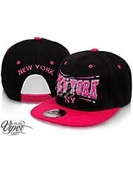 "Midi Shopping - Casquette Snapback Pas Cher Cap Hat Flatbrim ""New York"" CAP 12NY"