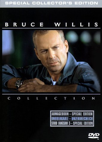 Bruce Willis Triple Action Pack (Stirb langsam 3, Armageddon, Unbreakable) [3 DVDs]