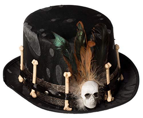 Brandsseller Kostüm Verkleidung Hut Zylinder - Karneval Fasching - Frankenstein's Braut Halloween Kostüm