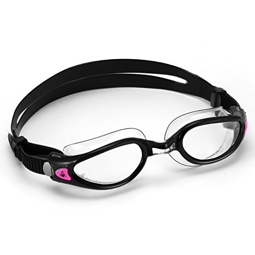 Aqua Sphere Kaiman Exo Lady Schwimmbrille, Lens/Black and Clear, Damengröße