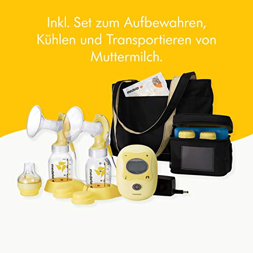 Milchpumpe Medela Freestyle - elektrische Doppel-Milchpumpe, Schweizer Medizinprodukt - 4