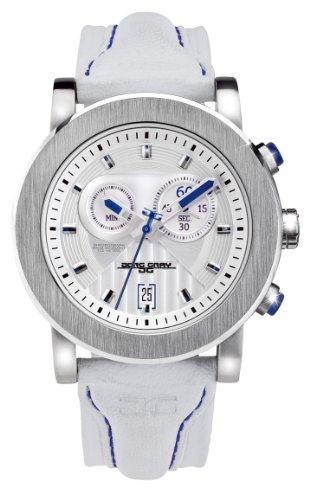 Jorg Gray - JG8100-11 - Montre Homme - Quartz Analogique - Bracelet Cuir Blanc