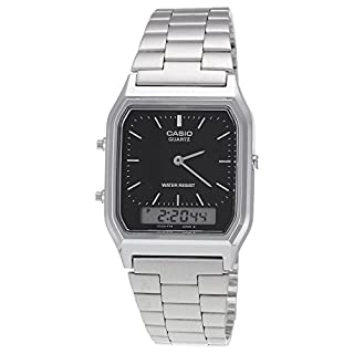 Casio Collection AQ-230A-1DMQYES Mens Watch, Black
