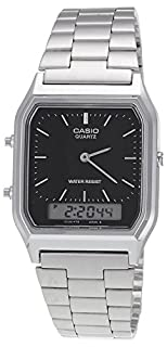 Casio Collection AQ-230A-1DMQYES Mens Watch, Black (B000J39T2S) | Amazon price tracker / tracking, Amazon price history charts, Amazon price watches, Amazon price drop alerts