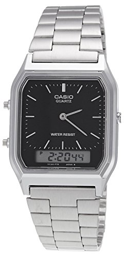 Casio Collection Unisex Retro Armbanduhr AQ-230A-1DMQYES