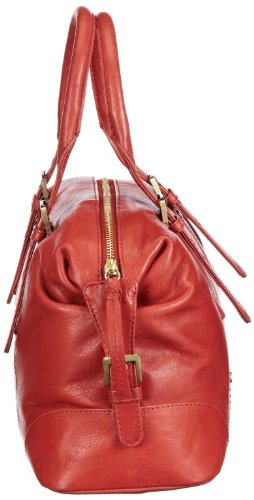 Marc O'Polo Accessories Talisha Bowling Bag, Borsa bowling donna rosso (Rot (terracotta))