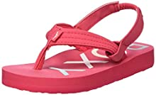 Roxy Baby Girls' Tw Vista Sandals, Pink (Berry Bry), 9 UK