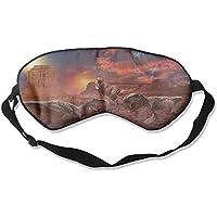 Sleep Eye Mask Dinosaur Ancient Lightweight Soft Blindfold Adjustable Head Strap Eyeshade Travel Eyepatch preisvergleich bei billige-tabletten.eu
